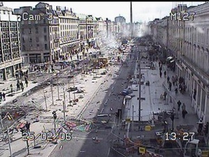 Aftermath of 2006 Dublin Riots.