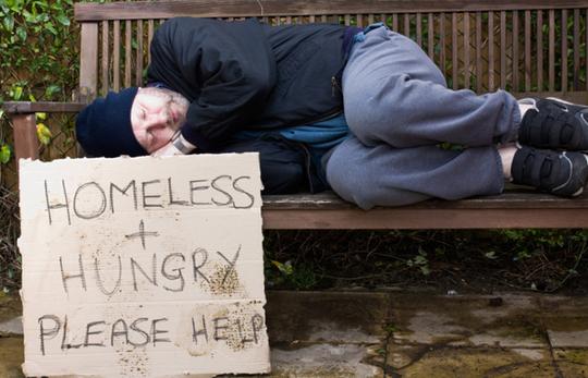 homeless-guy-on-bench