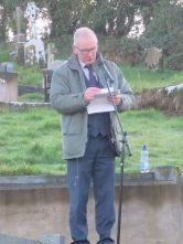 JJ McCusker Delivering the main oration at the F. O Hanlon Commemoration