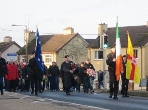 A section of the crowd in Monaghan